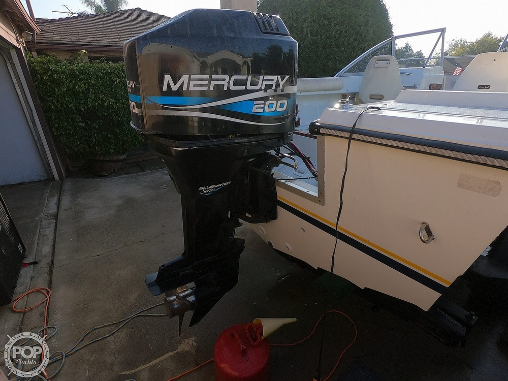 1987 Hydra-Sports boat for sale, model of the boat is 202 DC & Image # 16 of 40