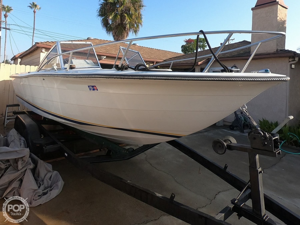 1987 Hydra-Sports boat for sale, model of the boat is 202 DC & Image # 18 of 40