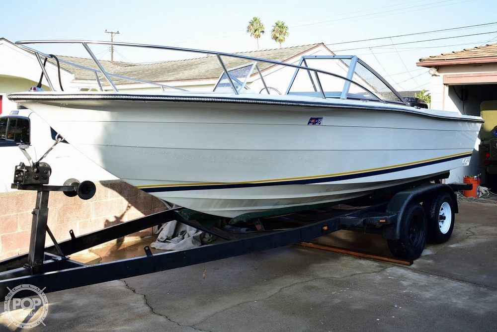 1987 Hydra-Sports boat for sale, model of the boat is 202 DC & Image # 26 of 40