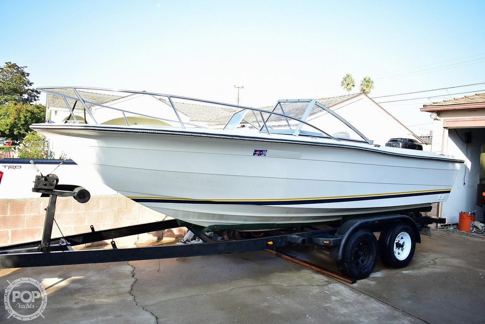 1987 Hydra-Sports boat for sale, model of the boat is 202 DC & Image # 27 of 40