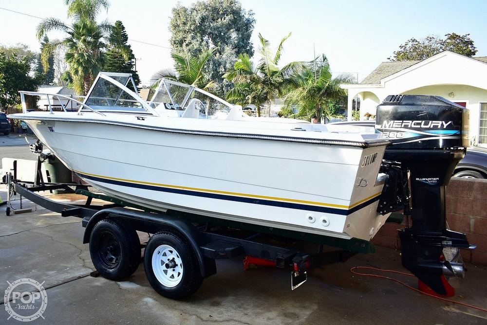 1987 Hydra-Sports boat for sale, model of the boat is 202 DC & Image # 28 of 40
