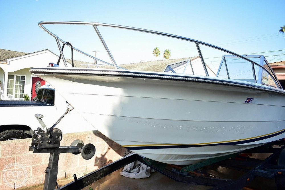1987 Hydra-Sports boat for sale, model of the boat is 202 DC & Image # 29 of 40