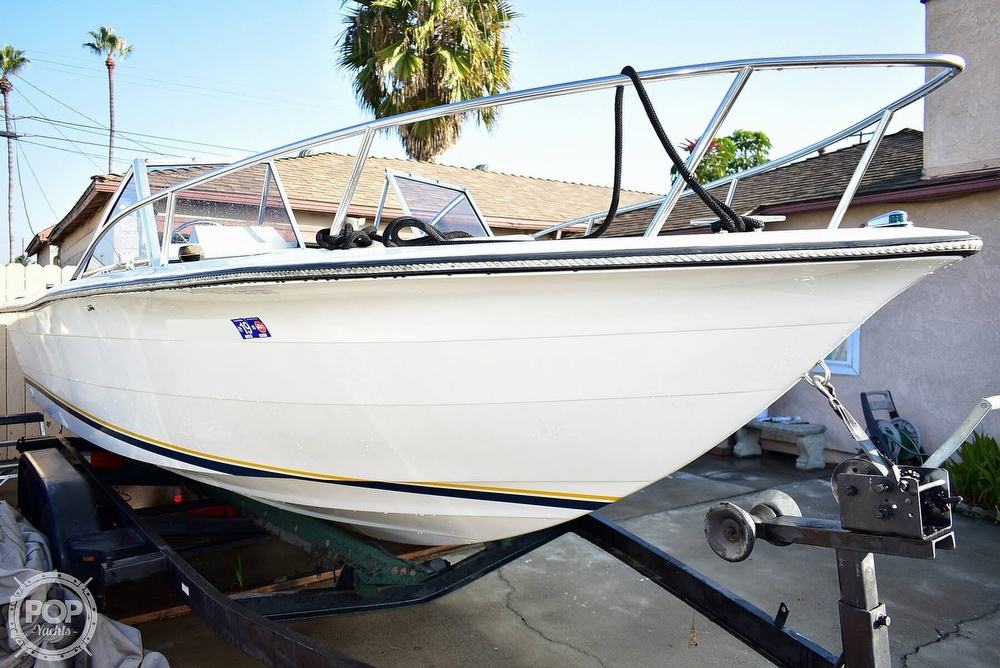1987 Hydra-Sports boat for sale, model of the boat is 202 DC & Image # 34 of 40