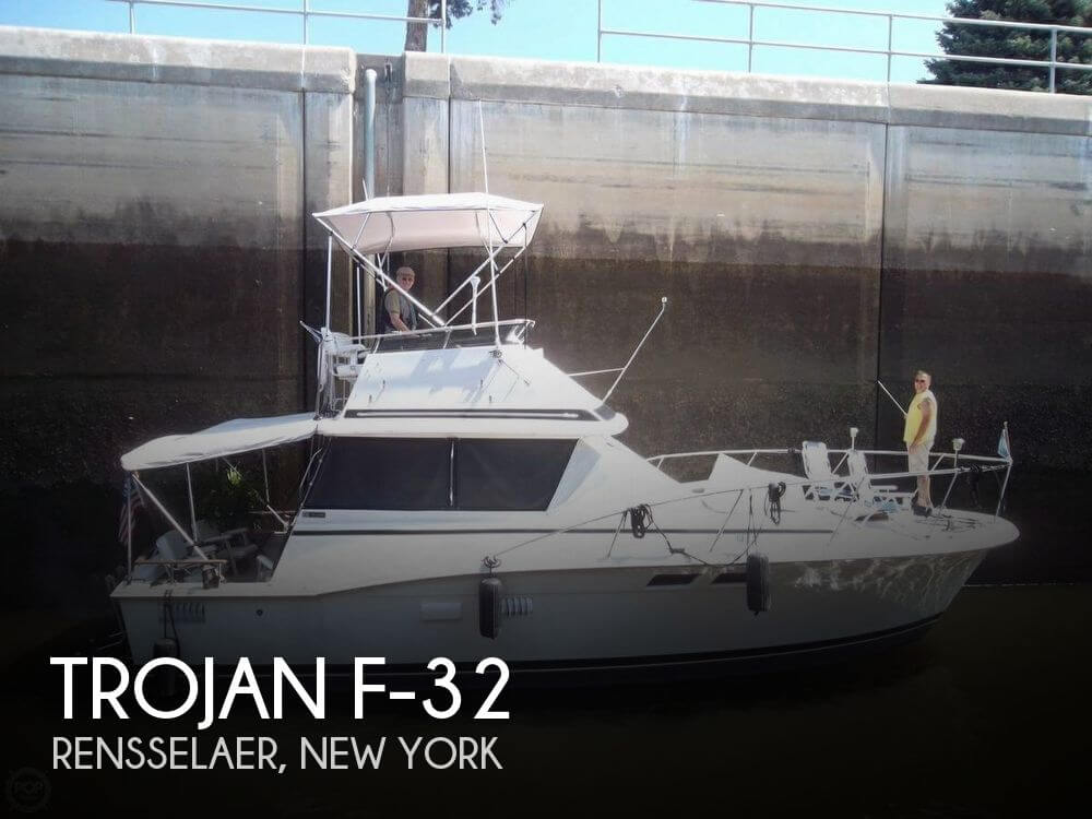 Used Boats For Sale in Springfield, Massachusetts by owner | 1977 Trojan 34