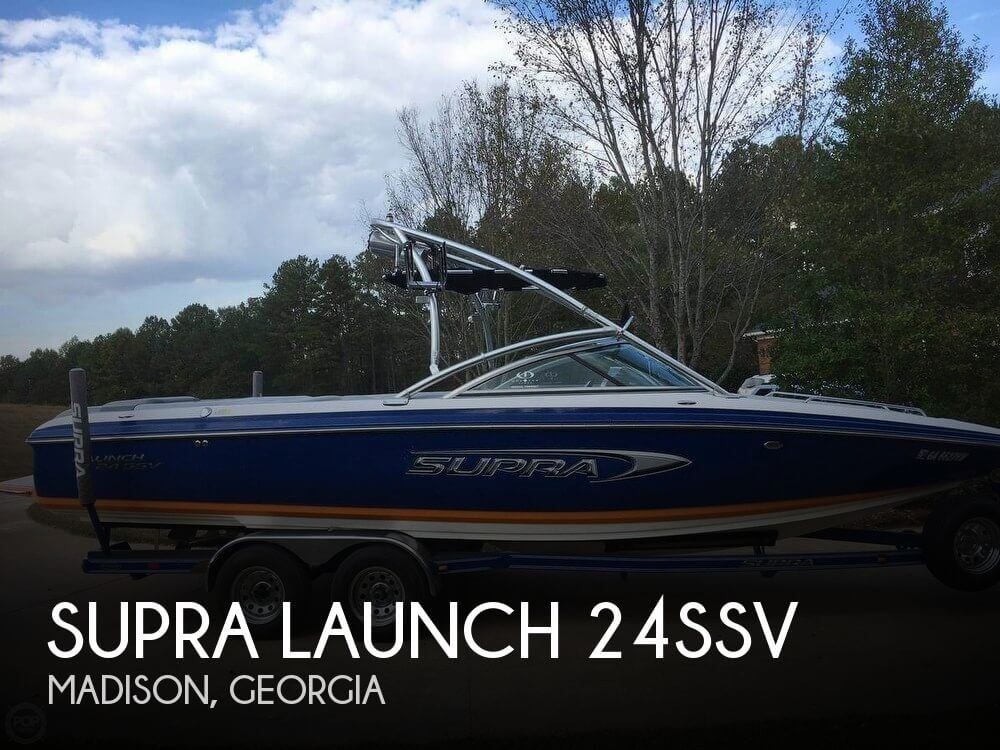Used Boats For Sale in Macon, Georgia by owner | 2005 Supra 24