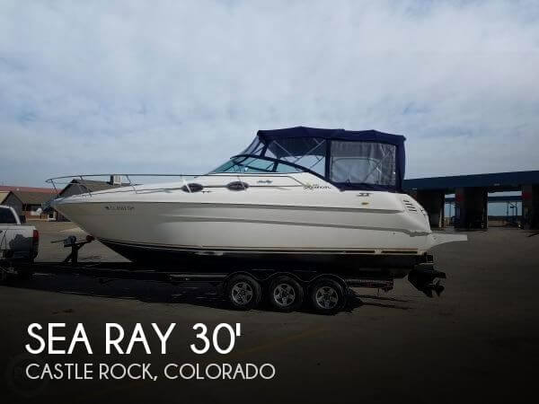 Used Boats For Sale in Boulder, Colorado by owner | 2000 Sea Ray 30