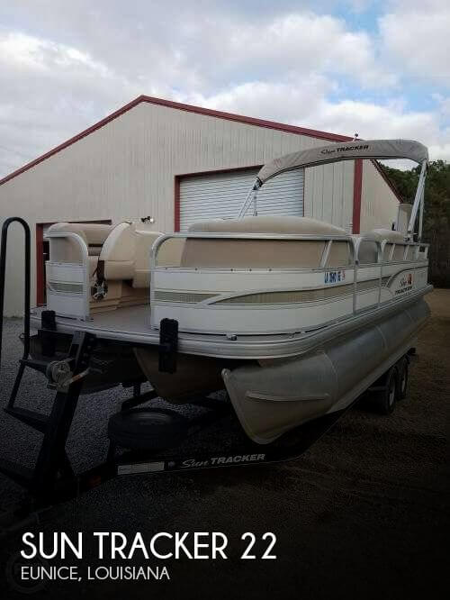 Used Sun Tracker Pontoon Boats For Sale by owner | 2015 Sun Tracker 22