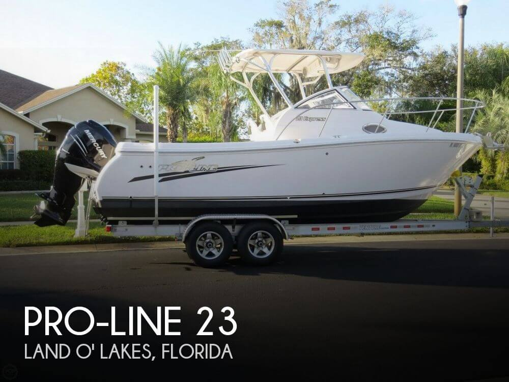 Used Pro-Line Boats For Sale by owner | 2016 Pro-Line 23