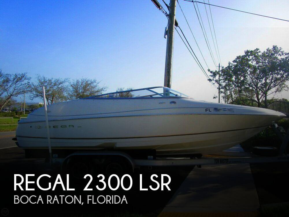 Used Regal 30 Boats For Sale by owner | 2001 Regal 2300 LSR