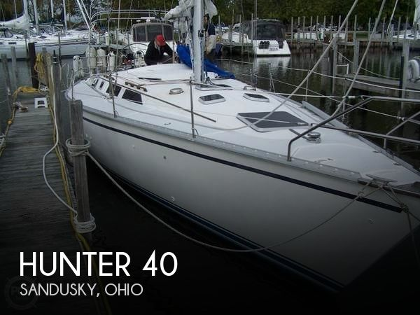 Used Boats For Sale in Cleveland, Ohio by owner | 1989 Hunter 40