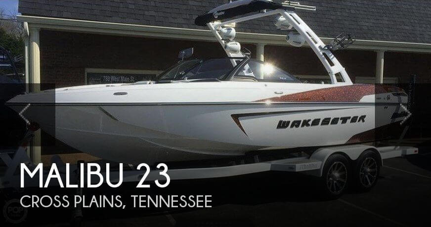 Used Boats For Sale in Clarksville, Tennessee by owner | 2016 Malibu 23