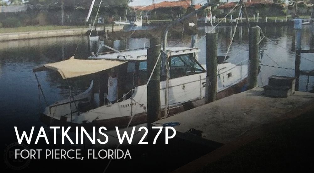 1981 Watkins boat for sale, model of the boat is W27P & Image # 1 of 1