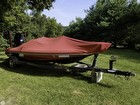 Boat Cover, Trailer