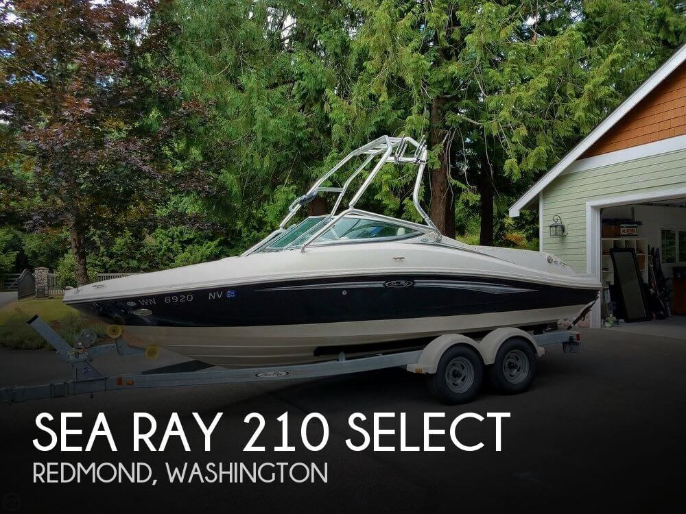 2007 SEA RAY 210 SELECT for sale