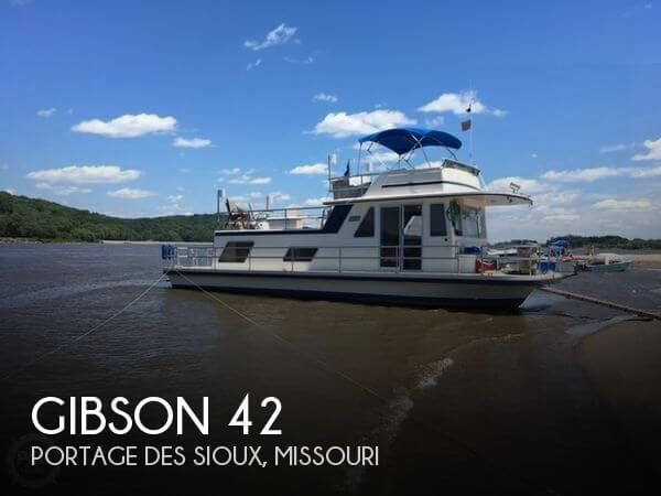Used GIBSON Boats For Sale by owner | 1986 Gibson 42