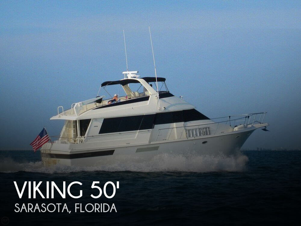 Used Boats For Sale in Cape Coral, Florida by owner | 1991 Viking 50