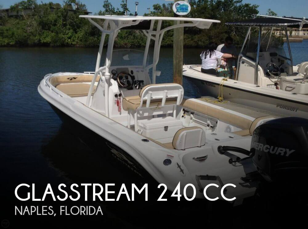 2017 Glasstream 240 CC