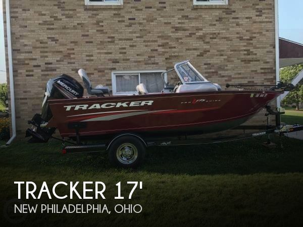 Used Ski Boats For Sale in Ohio by owner | 2016 Tracker Pro Guide V-175 Combo