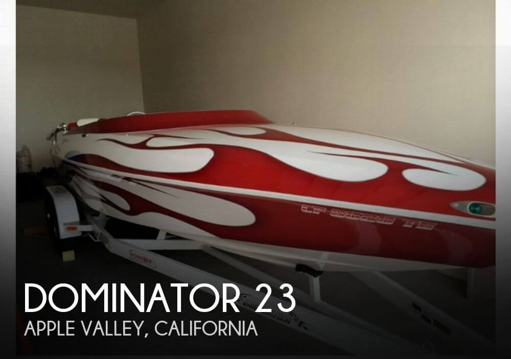 Used Dominator Boats For Sale by owner | 2004 Dominator 23