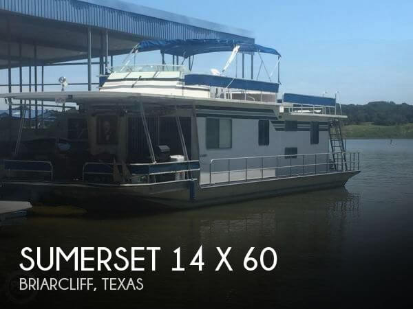Used Houseboats For Sale in Texas by owner | 1986 Sumerset 60
