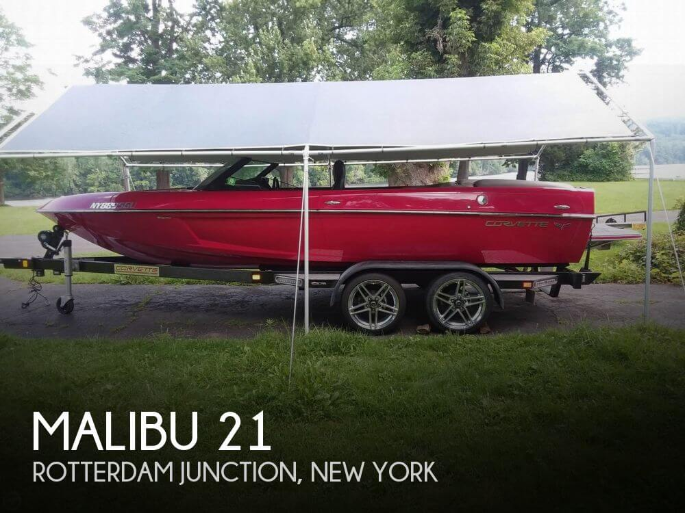 Used Boats For Sale in Albany, New York by owner | 2008 Malibu 21