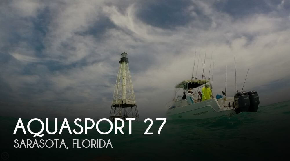 Used Aquasport Boats For Sale by owner   2000 Aquasport 27