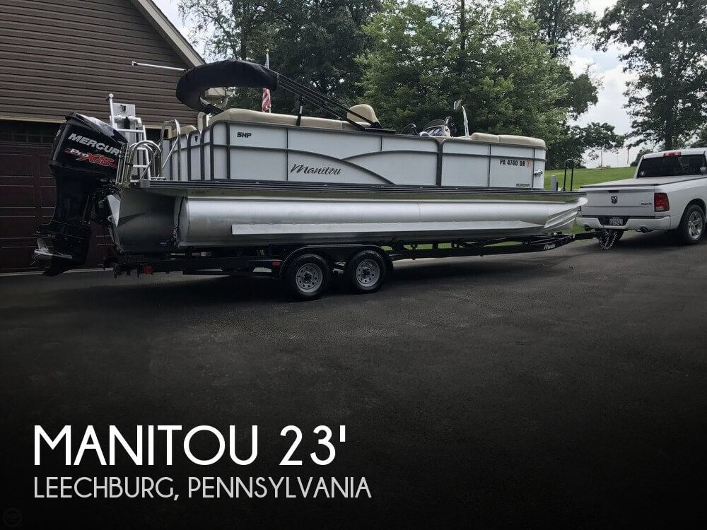 Used Pontoon Boats For Sale by owner | 2016 Manitou 23