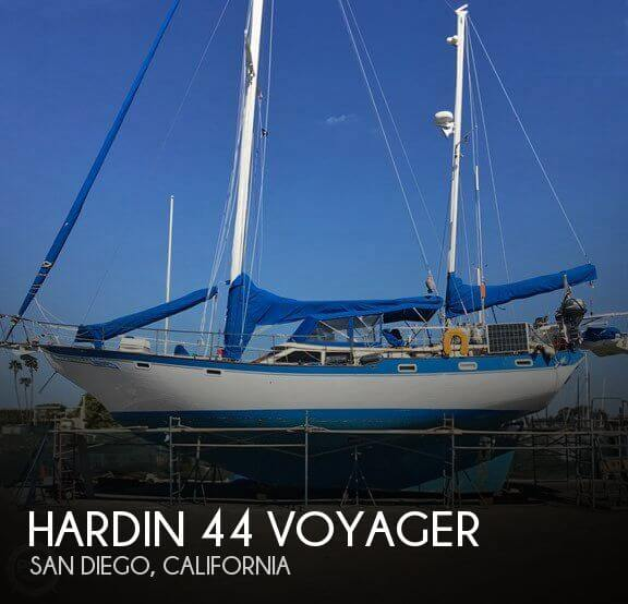 Used Sailboats For Sale in California by owner | 1978 Hardin 44
