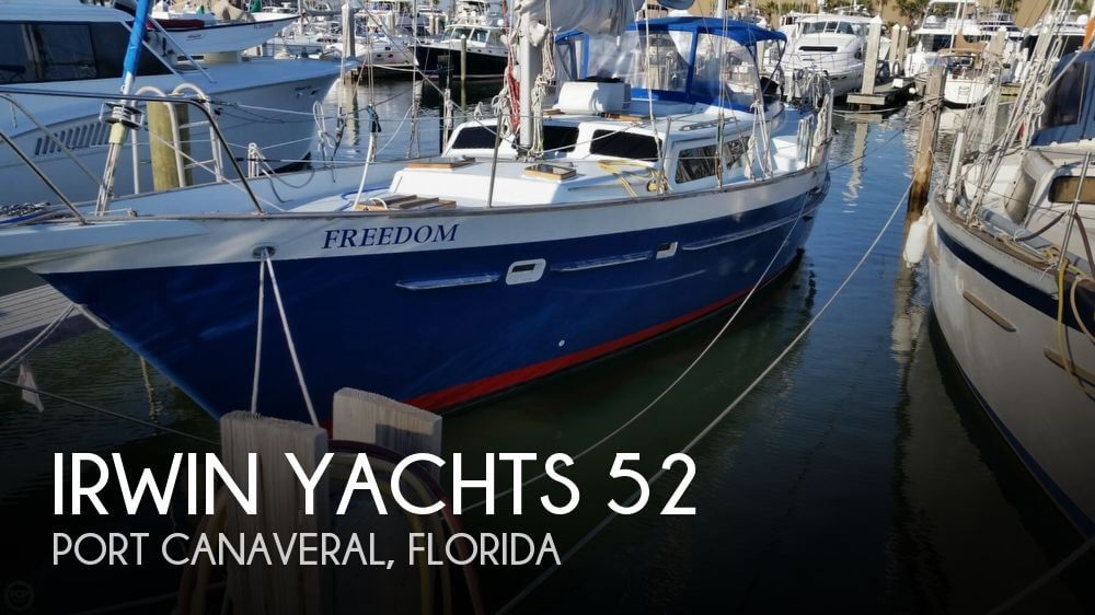Used Boats For Sale in Orlando, Florida by owner | 1978 Irwin Yachts 52