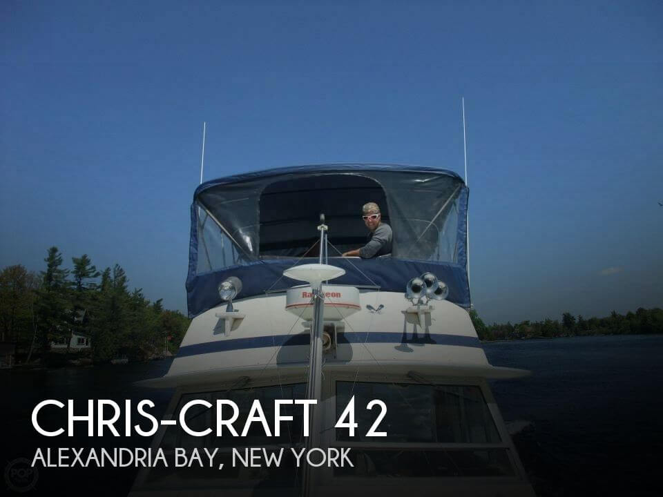 Used Chris-Craft Motoryachts For Sale by owner | 1984 Chris-Craft 42