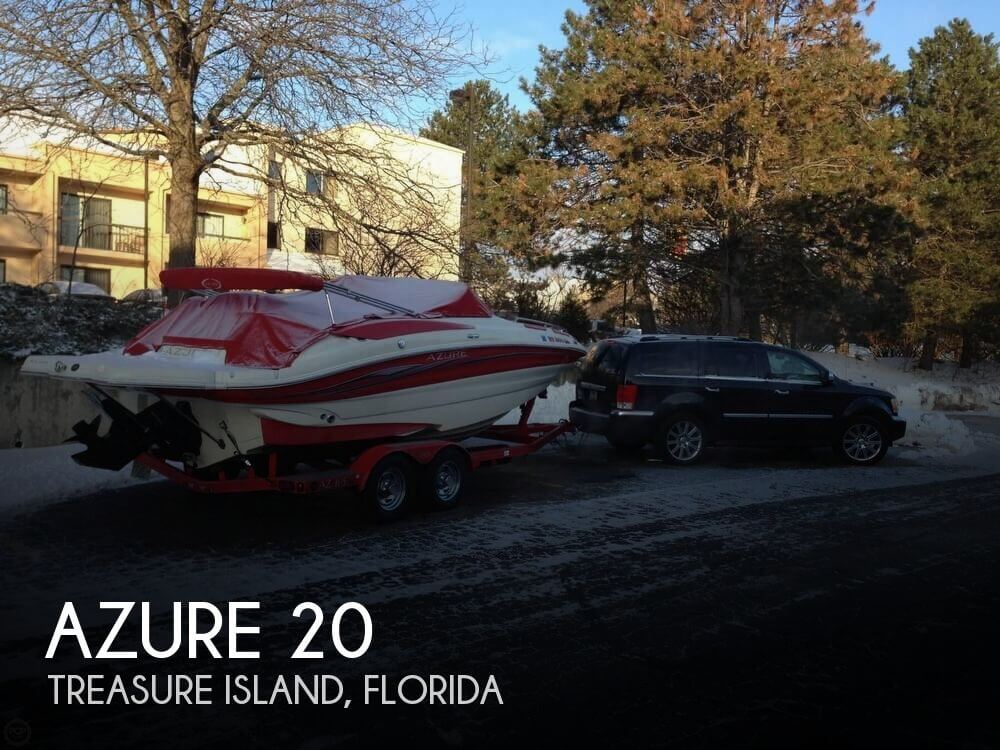 Used Deck Boats For Sale by owner | 2006 Azure 20