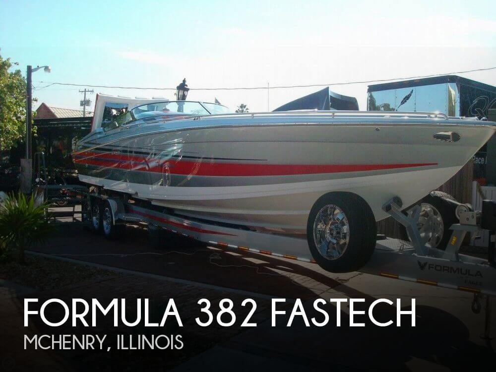 Used Boats For Sale in Chicago, Illinois by owner | 2013 Formula 382 Fastech