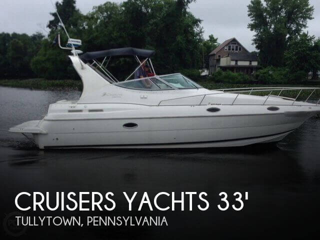 Used Boats For Sale in Atlantic City, New Jersey by owner | 1999 Cruisers Yachts 33