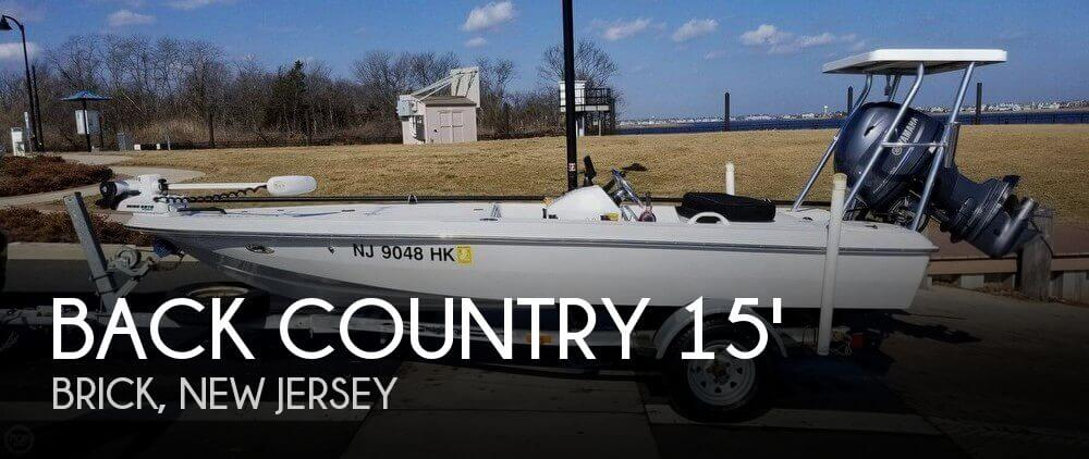 Used Back Country Boats For Sale by owner   2001 Back Country 15