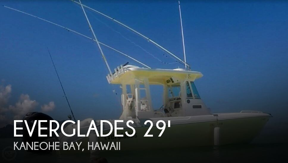 Used Boats For Sale in Honolulu, Hawaii by owner | 2005 Everglades 290 PH