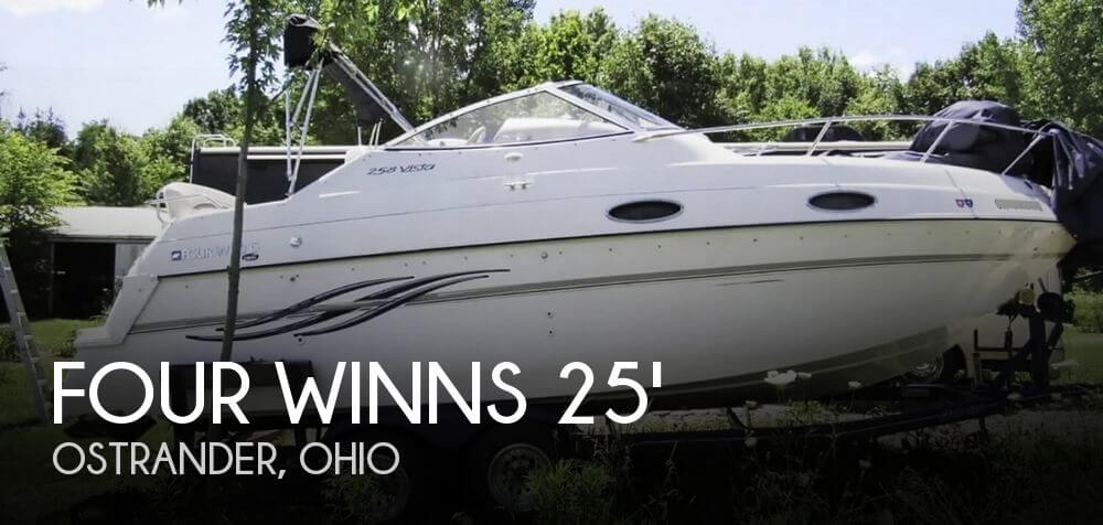 Used Boats For Sale in Columbus, Ohio by owner | 1997 Four Winns 258 Vista