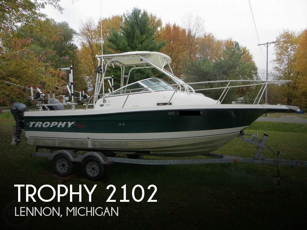 2011 Trophy boat for sale, model of the boat is 2102 & Image # 1 of 40