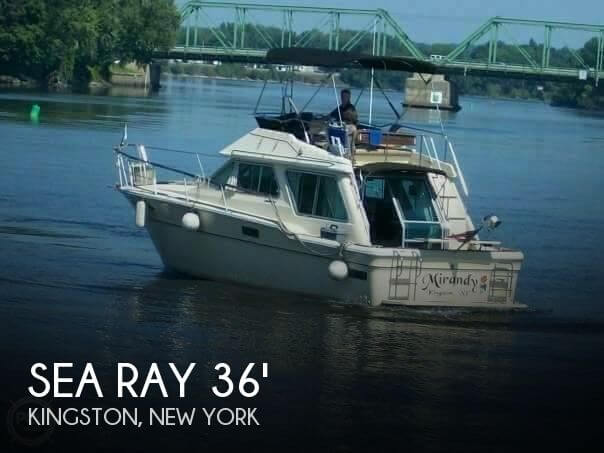Used Boats For Sale in Albany, New York by owner   1982 Sea Ray 36