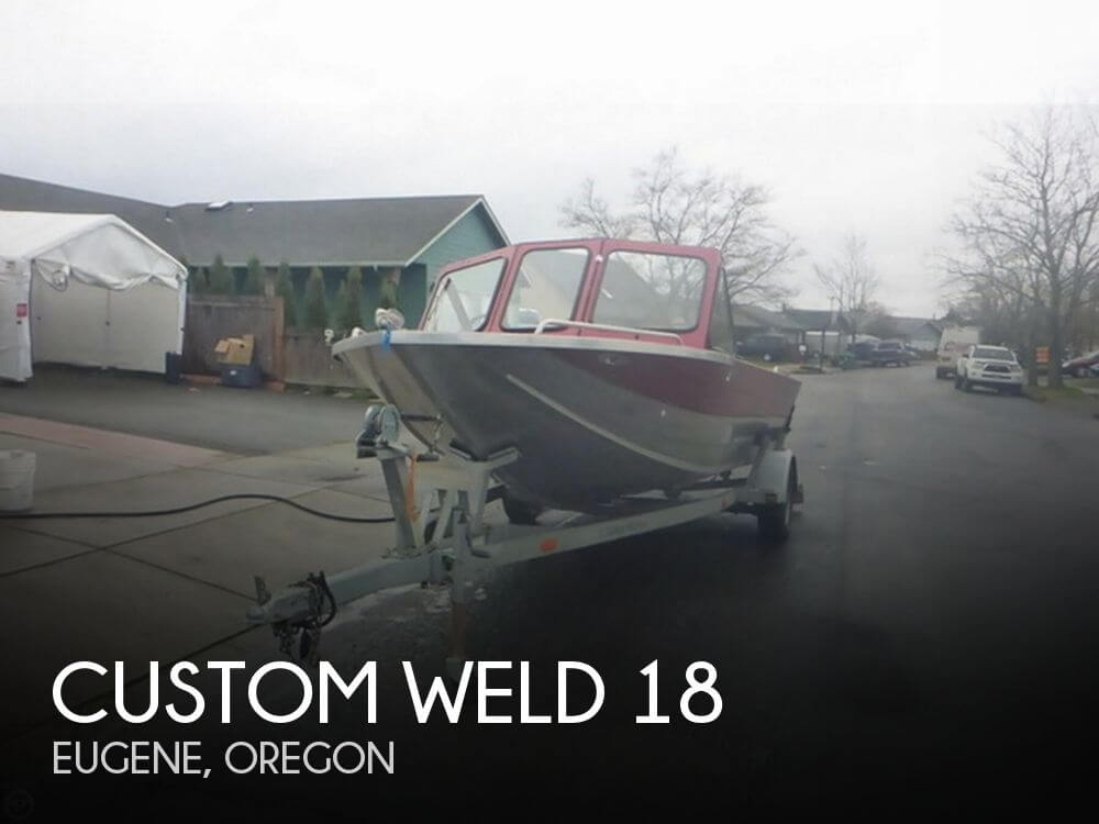 Used Custom Weld Boats For Sale by owner | 1999 Custom Weld 18