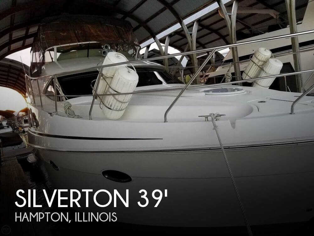 Used Boats For Sale in Illinois by owner | 2006 Silverton 39