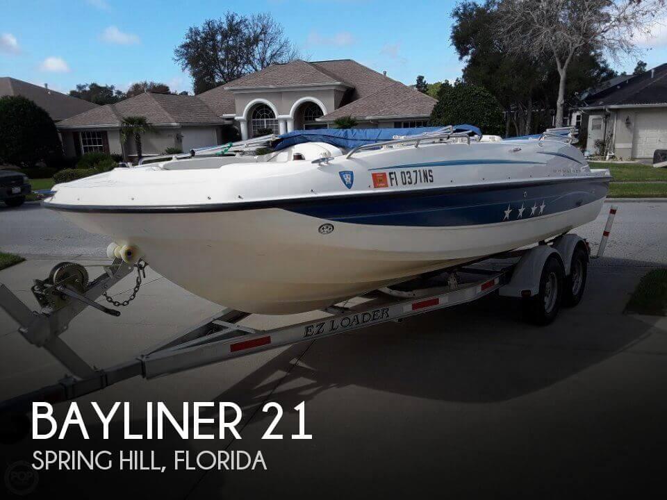 Used Bayliner Deck Boats For Sale by owner | 2006 Bayliner 21