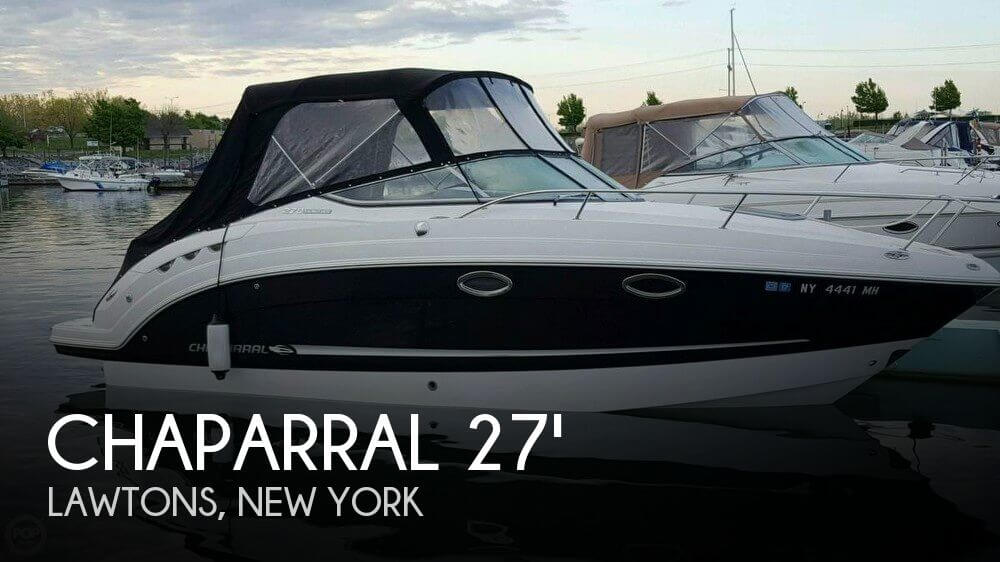 Used Boats For Sale in Buffalo, New York by owner | 2010 Chaparral 27