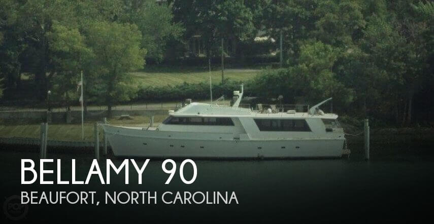 Used Power boats For Sale in North Carolina by owner | 1975 Bellamy 90