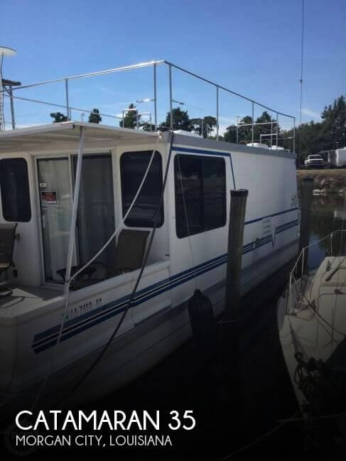 Used Boats For Sale in Lafayette, Louisiana by owner | 2002 Catamaran 35