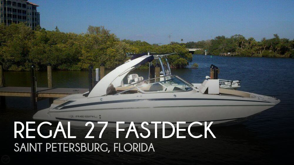 Used Regal Boats For Sale in Florida by owner | 2012 Regal 27