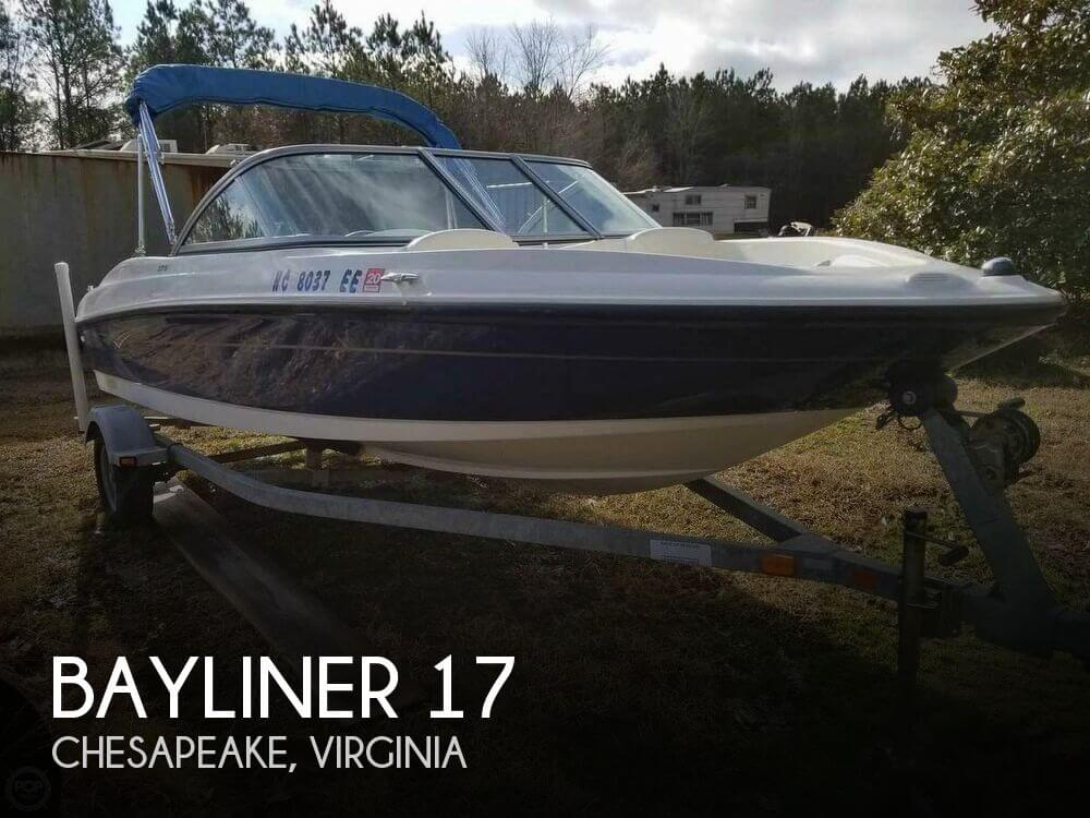 Used Bayliner Boats For Sale in Virginia by owner | 2010 Bayliner 17