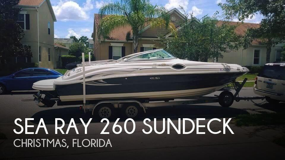 Used Sea Ray Deck Boats For Sale by owner | 2006 Sea Ray 26