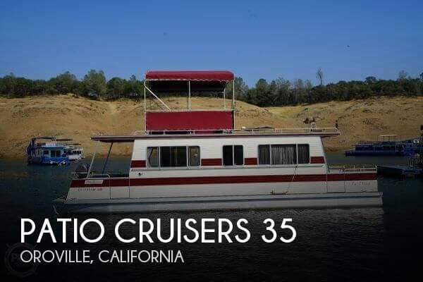 Used Houseboats For Sale in California by owner | 1985 Patio Cruisers 35