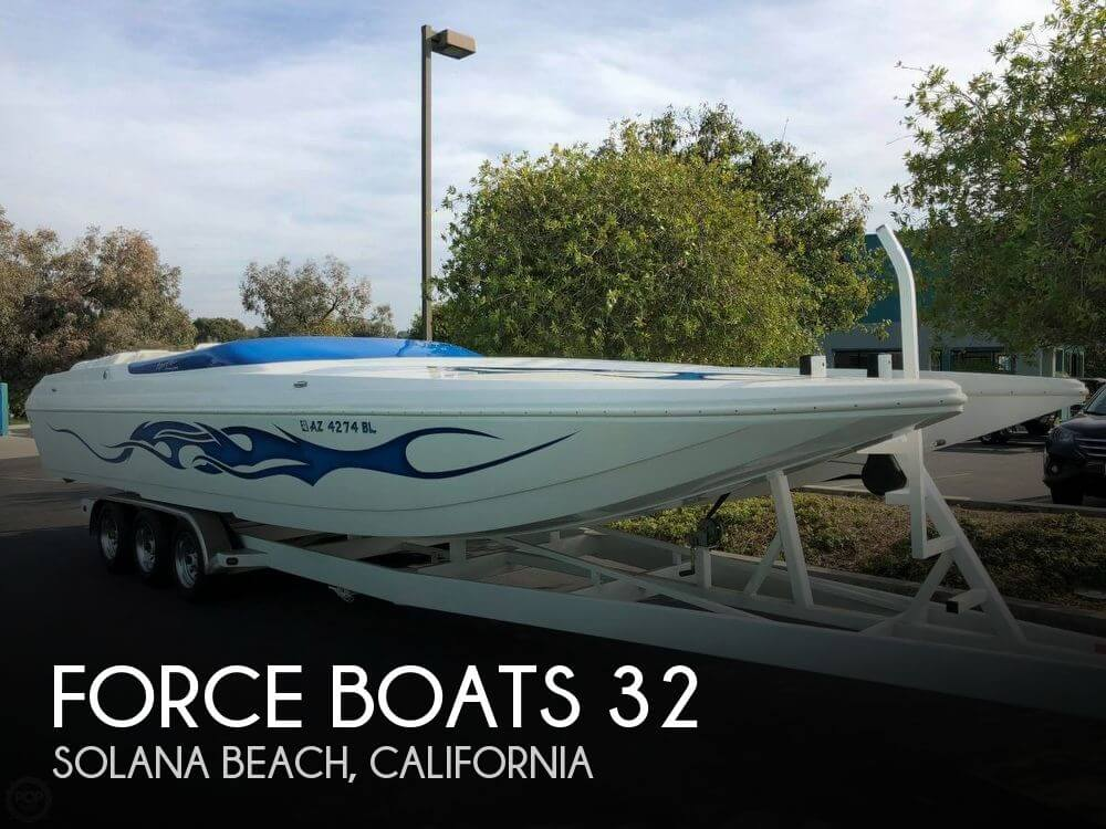 Used Boats For Sale in San Diego, California by owner | 2007 Force Boats 32
