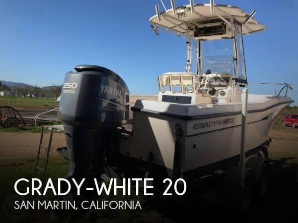 Used Boats For Sale in Salinas, California by owner | 2000 Grady-White 20